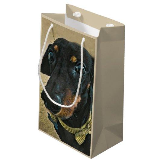 LeBron the Dachshund gift bag