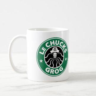 LeChuck's Grog Basic White Mug
