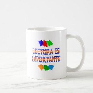 Lectura Coffee Mug