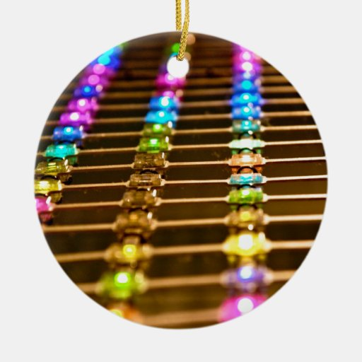 LED Abstraction Christmas Ornament