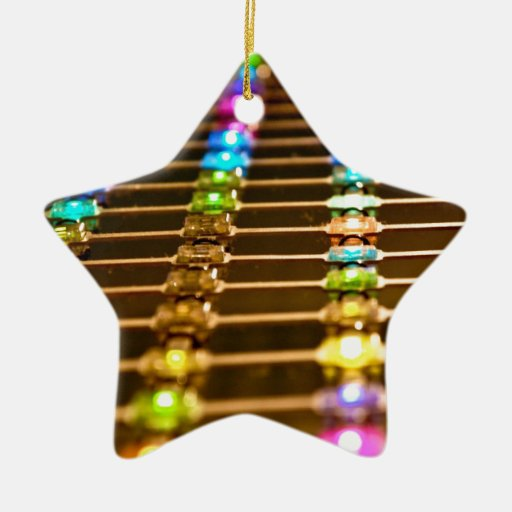 LED Abstraction Christmas Tree Ornaments