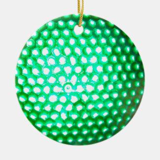 LED-green-lights1948 Multiple green LED lights Christmas Ornament