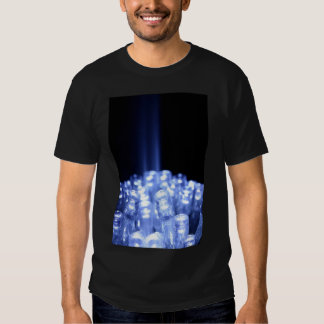 LED Light beam technology Tshirts