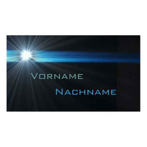 LED supernew facts Business Card Templates