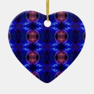 LED Wave Ceramic Heart Decoration