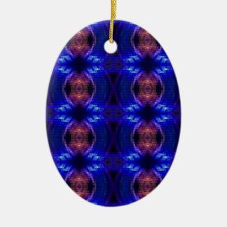 LED Wave Ceramic Oval Decoration