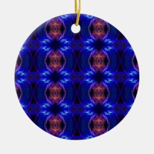 LED Wave Christmas Tree Ornaments