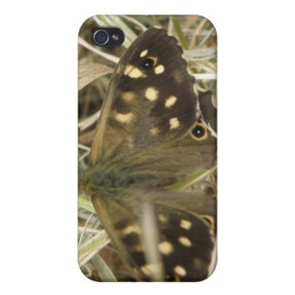led Wood Butterfly  Case For iPhone 4
