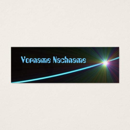 LED Young Mini Business Card