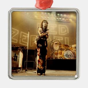 led zeppelin jimmy page 1975 christmas ornament - Led Zeppelin Christmas