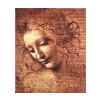 Leda - Stretched Canvas Reproduction Canvas Print