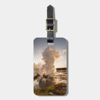 Ledge Geyser, Norris Geyser Basin Bag Tag