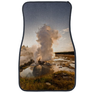 Ledge Geyser, Norris Geyser Basin Car Mat