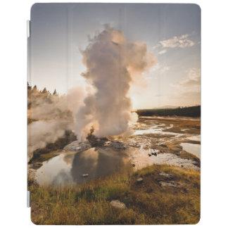 Ledge Geyser, Norris Geyser Basin iPad Cover