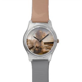 Ledge Geyser, Norris Geyser Basin Watch