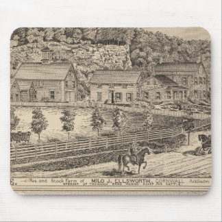 Ledgeside and Glen Dale, farms and residences Mouse Pad