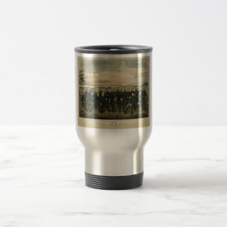 Lee And His General by Americus Patterson (1904) Stainless Steel Travel Mug