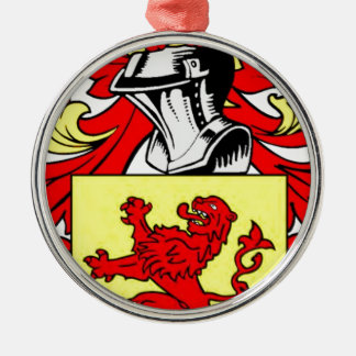 Lee (English) Coat of Arms Christmas Tree Ornament