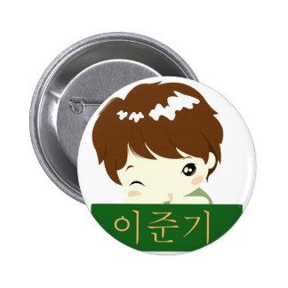 Lee Jun Ki - Chibi Hero 6 Cm Round Badge