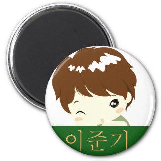 Lee Jun Ki - Chibi Hero 6 Cm Round Magnet