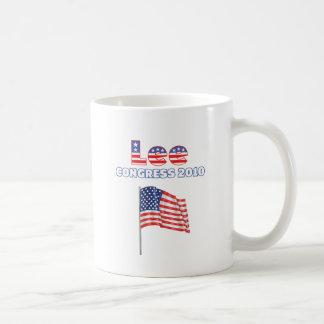 Lee Patriotic American Flag 2010 Elections Mugs