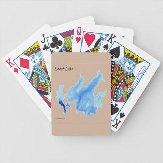 Leech Lake In Depth Bicycle Playing Cards