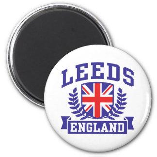 Leeds 6 Cm Round Magnet