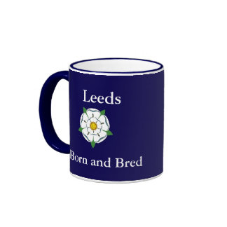 Leeds Born Bred Mug