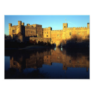 Leeds Castle, 12th c., Norman stronghold and Photographic Print
