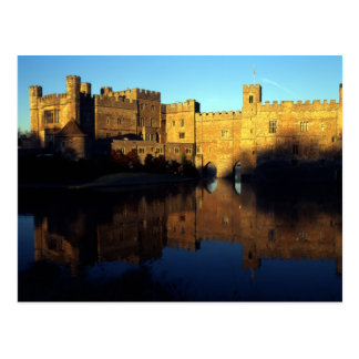 Leeds Castle, 12th c., Norman stronghold and Postcard