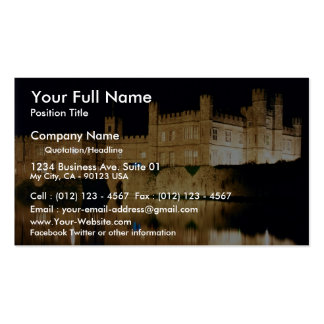 Leeds Castle, Kent, England Business Card Template