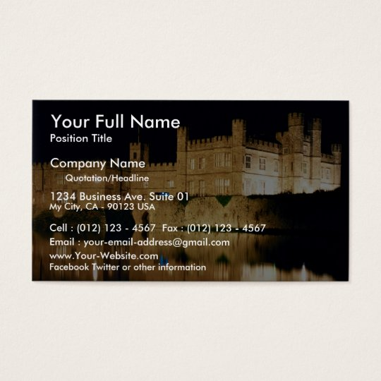 Leeds Castle, Kent, England Business Card