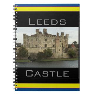 Leeds Castle Spiral Notebook