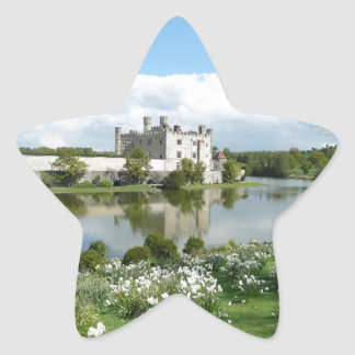 Leeds Castle Star Sticker