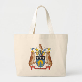 Leeds Coat of Arms Large Tote Bag