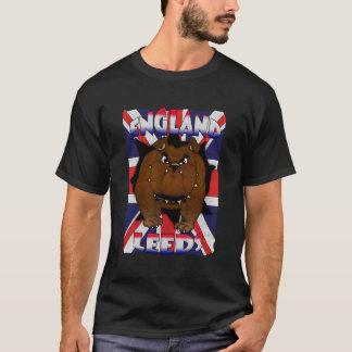 Leeds England T Shirt For Men British Bulldog