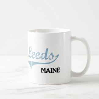 Leeds Maine City Classic Coffee Mug