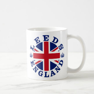 Leeds Vintage UK Design Coffee Mug