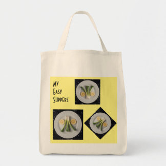 Leek & Lemons Tote Grocery Bag
