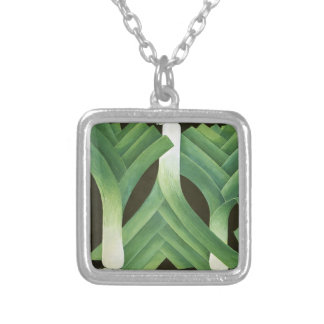 Leeks 2014 silver plated necklace