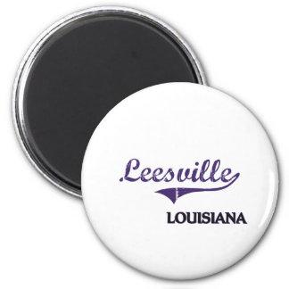 Leesville Louisiana City Classic Magnet
