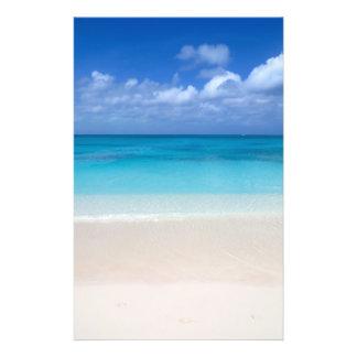 Leeward Beach | Turks and Caicos Photo 14 Cm X 21.5 Cm Flyer