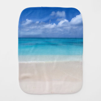 Leeward Beach | Turks and Caicos Photo Burp Cloth