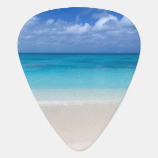 Leeward Beach | Turks and Caicos Photo Guitar Pick