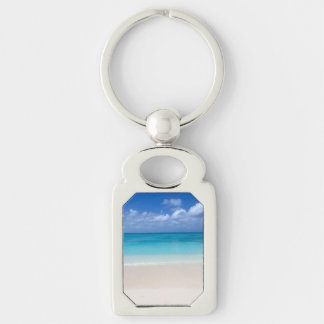 Leeward Beach | Turks and Caicos Photo Key Ring