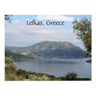 Lefkas Island, Greece Postcard