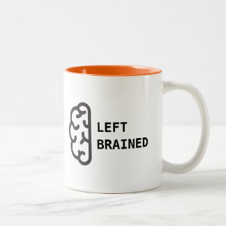 Left Brained Coffee Mug