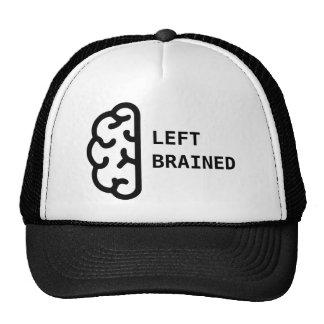 Left Brained Trucker Hat