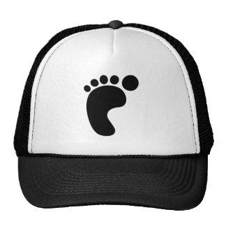 Left Foot Mesh Hat
