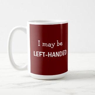 Left-Handed Red Mug